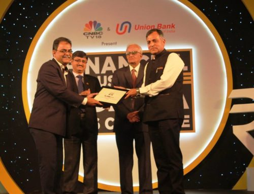MelJol has been awarded with Financial Inclusion Award by CNBC TV 18 & Union Bank Of India